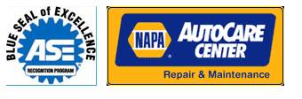 Napa Car Care Center Certified ASE technicians